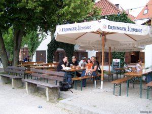 Brotzeit in Landshut