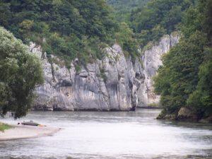 Im Donaudurchbruch