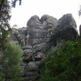 Schöne Kletterwand