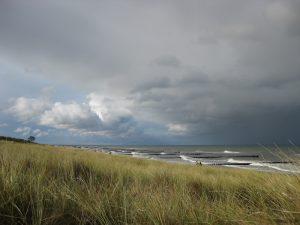Kurz vor dem Unwetter