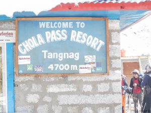 Chola Pass Resort