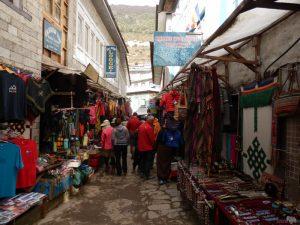 Einkaufen in Namche Bazar