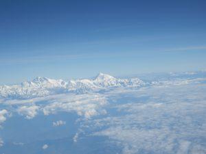 Himalaya aus der Luft