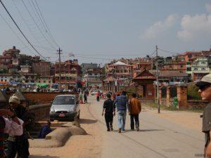 Strasse in Kathmandu