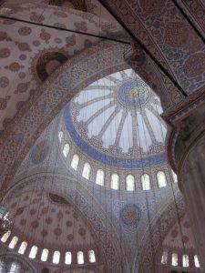 Kuppel der Blauen Moschee