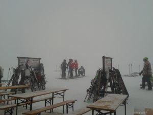 Erster Tag, Nebel