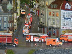 Feuerwehr Großeinsatz