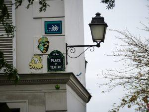Invader Place du Tertre