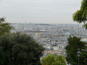Ausblick auf Gare du Nord