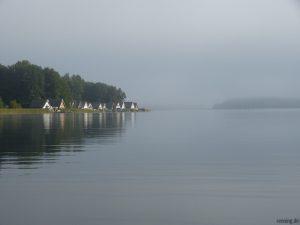 Bootshäuser am Rätzsee