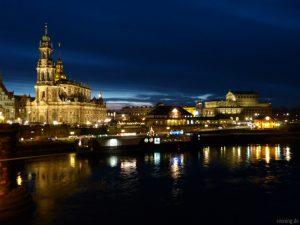 Hofkirche und Semperoper