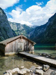 Bootsschuppen Obersee