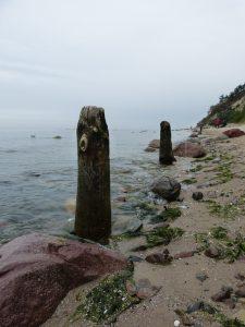 Strand in Richtung Osten