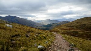 Ben Nevis Mountain Path