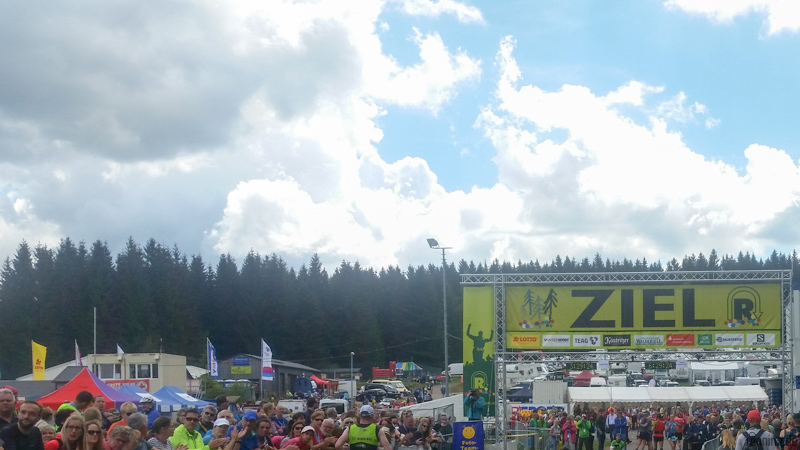 Rennsteiglauf Ziel