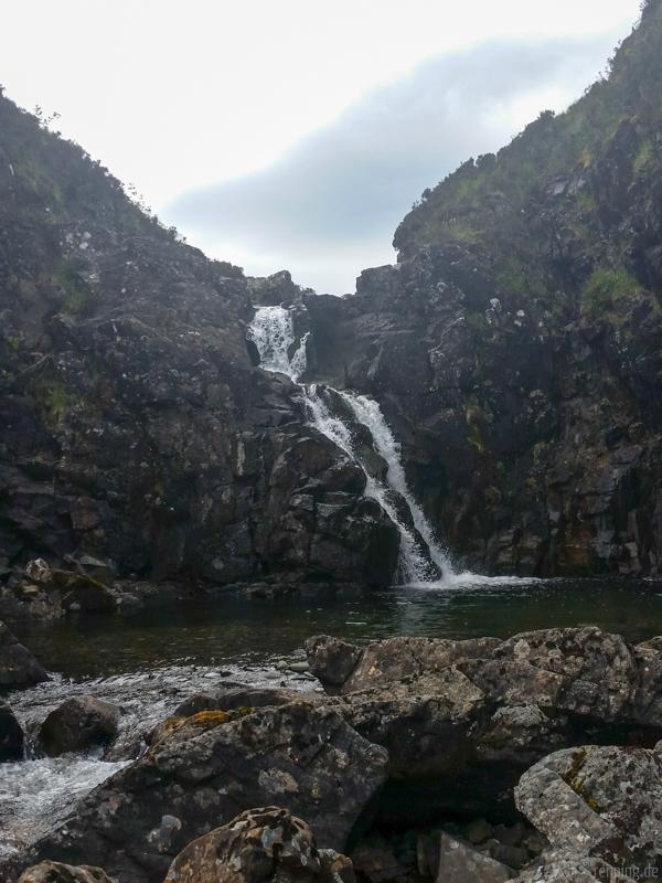 Wasserfall am Allt Dearg Mor