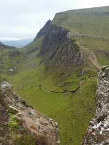 Berg und Tal Kehre