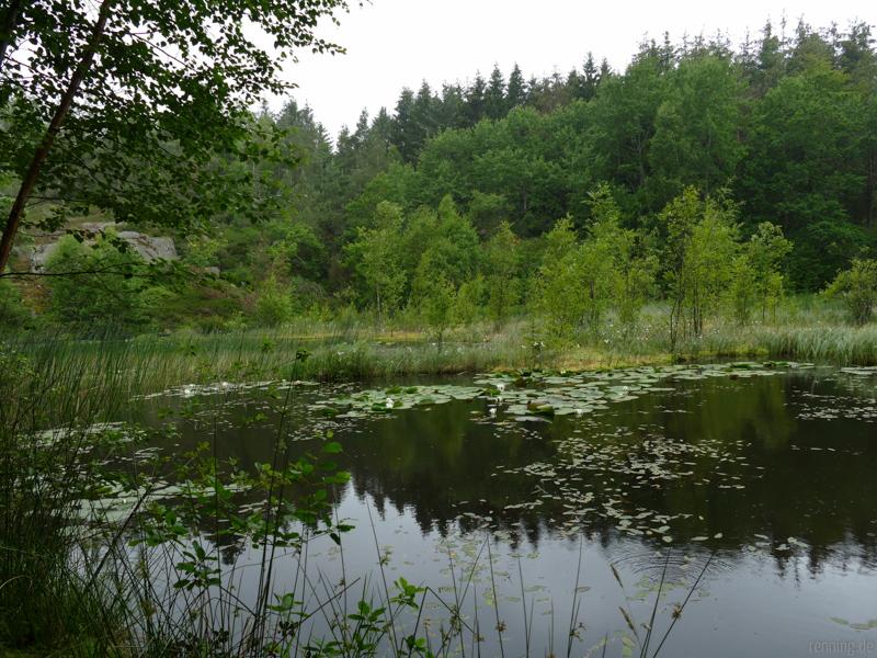 Gamledam See in den Paradieshügeln