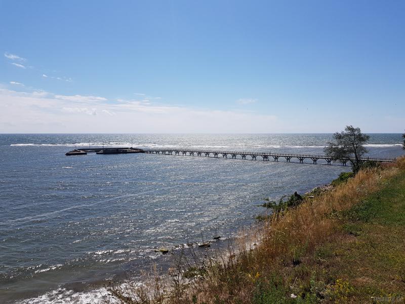 Längste Holzbrücke Dänemarks