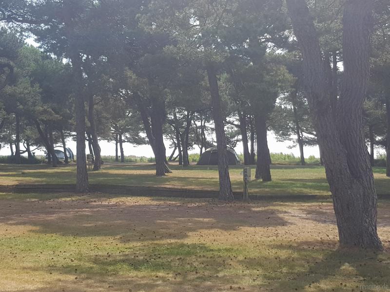 Camping Stellplatz am Meer